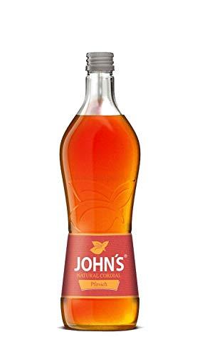 Johns Pfirsich Sirup für Cocktails 0,7l