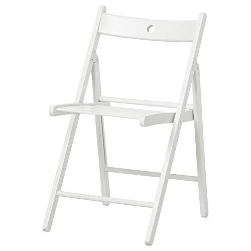 IKEA ASIA TERJE Silla plegable blanco
