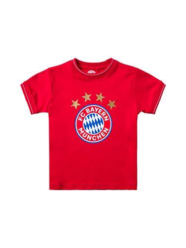 FC Bayern München T-Shirt Logo Baby, 86/92