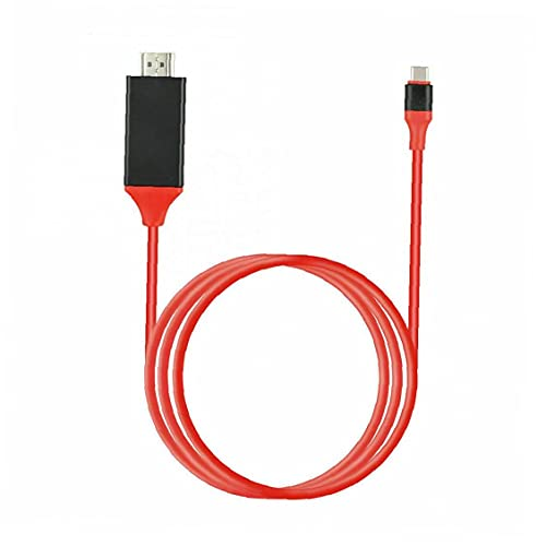 Tipo de Cable convertidor C a USB Cable HD TV HDTV Cable Adaptador de Alta Definición Extender Adaptador para Android Rojo Multifuncional Accesorios Vida