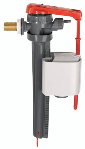 Wirquin 16300002 Robinet jollyfill latéral 3/8 Laiton, Gris et Rouge
