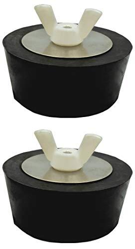 Pangaea Tech 2X Pool Winterstopfen 1,5-2 Zoll - 38-51mm Verschlussstopfen für Pool-Einlaufdüsen