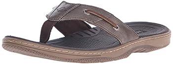 Sperry Mens Baitfish Thong Sandals Brown 11