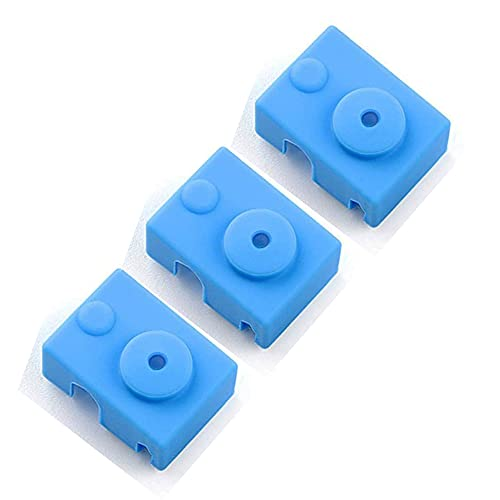 3D Printer Silicone Socks Cover for V6 PT100 Heater Block Extruder Hotend Eewolf