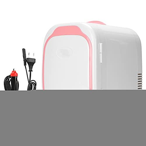 Hoseten Refrigerador portátil de 6 litros, Mini refrigerador de Alta eficiencia y bajo Consumo de energía para el hogar para Viajes(#0, 1)