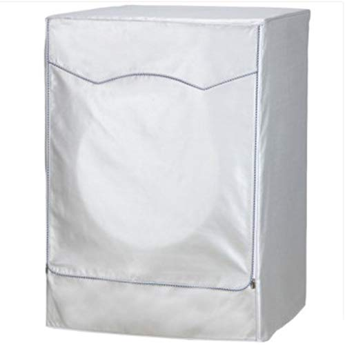 Washing Machine Cover 85 * 60 * 65cm Silver Waterproof Washing Machine Dust...