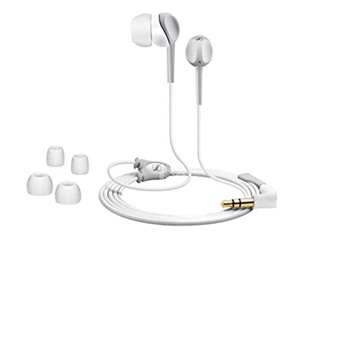 Sennheiser CX 200 Street II-w In-Ear-Kopfhörer (1,2 m Kabellänge, Earadapterset S/M/L, 2 Jahre Garantie) weiß