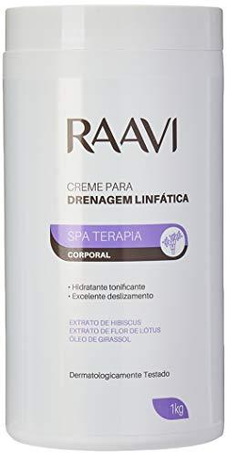 Creme Drenagem Linfática, Raavi, 1 kg
