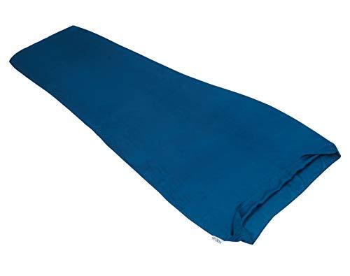 RAB Silk Neutrino Sleeping Bag Liner Blau, Schlafsack, Größe 185 cm - Farbe Ink