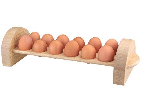 Apollo Porte-œufs Rb pour 12 œufs, Marron