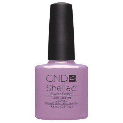 CND Shellac UV Gel Polish - Spring 2013 Sweet Dreams Collection - Lilac Longing 7.3ml by CND (English Manual)