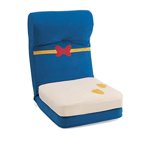 [ベルメゾン] ディズニー 座椅子 クッション付き 完成品 ドナルドダック