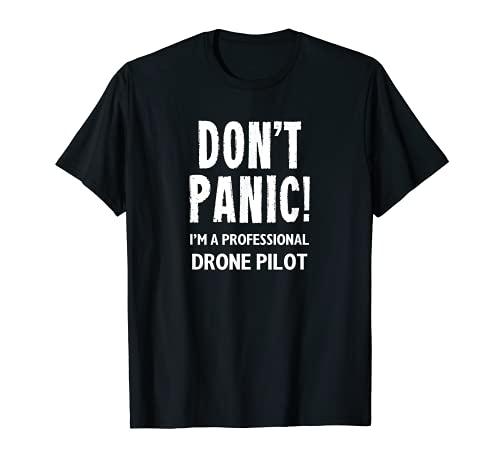 Piloto Drone Camiseta
