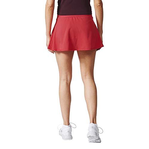 adidas Club Falda de Tenis, Mujer, Rosa (Rosene/borosc), S