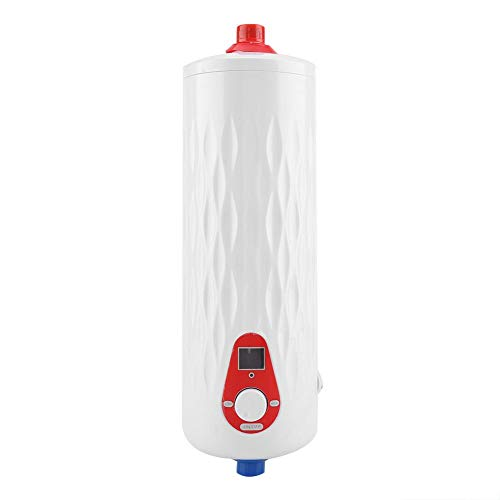 Fdit Mini Calentador de Agua Eléctrico Instantáneo Sin Tanque 6500W / 3000W 220V Temperatura...