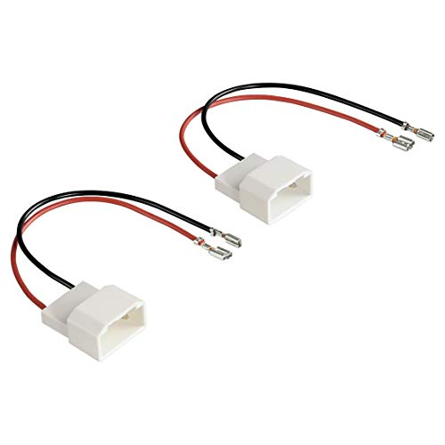 Hama Câble adaptateur pour haut-parleurs Lot de 2 Pour Ford Fiesta/C-Max/S-Max (Import Allemagne)