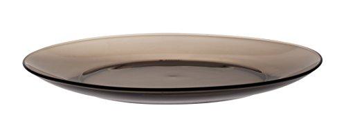 Duralex 3006CF06 Creole 6er Set Teller Glas Braun 23,5 cm