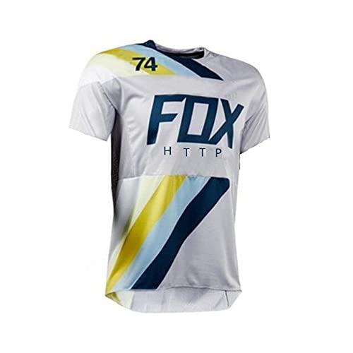 Racing Downhill Jersey Mountainbike Radtrikot Crossmax Shirt Ciclismo Kleidung Santa Cruz MTB Motorrad Trikot Herren-Xs