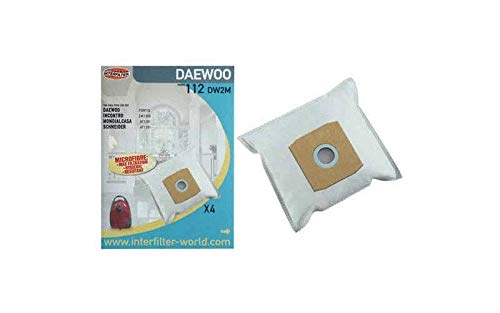 SACHET DE SACS LIVREE PAR X4 POUR PETIT ELECTROMENAGER DAEWOO - 35600767