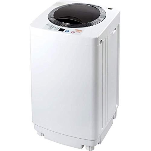 Hyl Lavadoras de Ropa Mini Solo hidromasaje Lavadora for Dormitorio de Estar Balcón Baño, Energía y Ahorro de Agua, 3,5 kg Capacidad