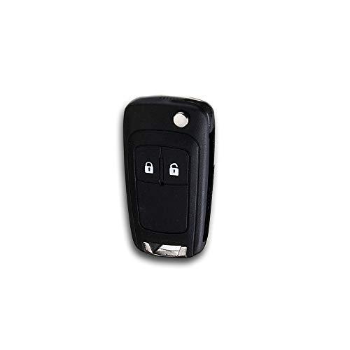 Opel - Alloggiamento per chiave a scatto a 2 tasti per Astra J, Insignia, Corsa E, Meriva B