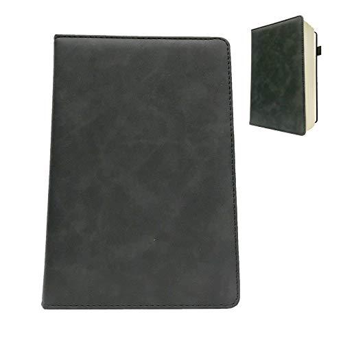 A5 Cuaderno Clásico Bloc De Notas A5 Tapa Dura Cuaderno De Cuero Exquisito Simple Cuaderno De Alta Calidad Suave Cuaderno Cuaderno Diario Carpeta Sencillez Moda Elegante Regalo Ideal