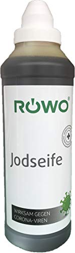 Röwo® Jodseife 500ml Flüssigseife desinfizierend
