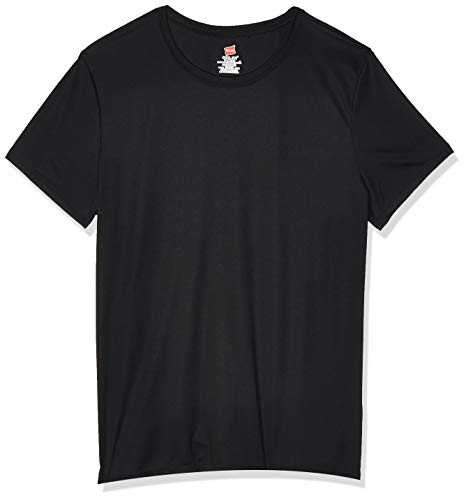 Hanes Sport Women's Short Sleeve Cool DRI Performance Tee, Black, XX-Large