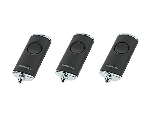 3 X Hörmann HSE1-868-BS BiSecur schwarz handsender 868,3Mhz BiSecur 1-kanal fernbedienungen. 3 Stücke Top Qualität original Hörmann fernbedienungen für den besten Preis!!!
