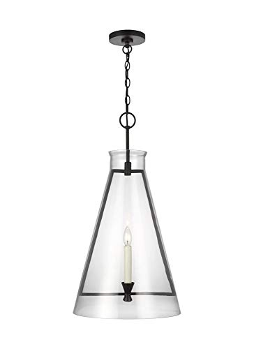 Feiss CP1091AI Transitional One Light Pendant from Keystone...
