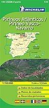 TUCUMAN AVENTURA - Mapa para el Camino de Santiago.Pirineos atlanticos