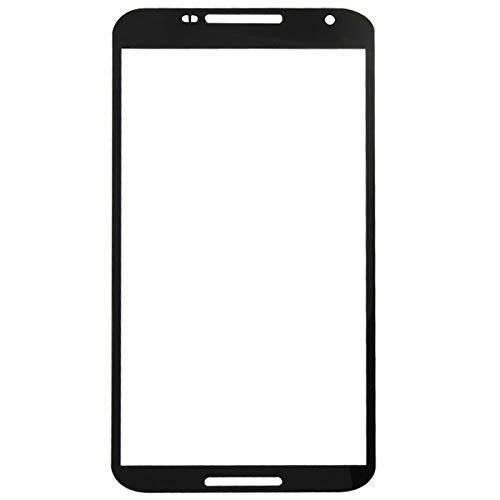 xiaowandou Reparar para su teléfono IPartsCompra Reemplazo de Lente de Vidrio Exterior de la Pantalla Frontal for el Accesorio Google Nexus 6 / XT1103 a renovación