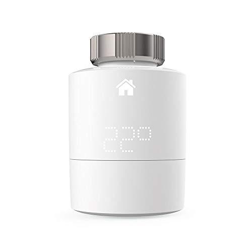 tado° Cabezal termostático Inteligente (Montaje Horizontal), Accesorio para control de habitaciones múltiples, control de calefacción inteligente