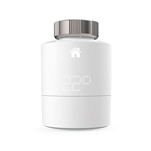 tado° V3P-SRT01H-TC-ML-00 Cabezal termostático Inteligente (Montaje Horizontal), Blanco, Zusatzprodukt Smartes Heizkörper-Thermostat