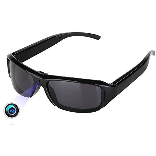 Kleine Versteckte Tragbare Brille Kamera –Getarnt Aufzeichnung Sonnenbrille Spion Überwachungs Kameras Mini Full HD 1080P Für Beweise Sammeln Geschäftstreffen Und Lernaufzeichnungen Usw