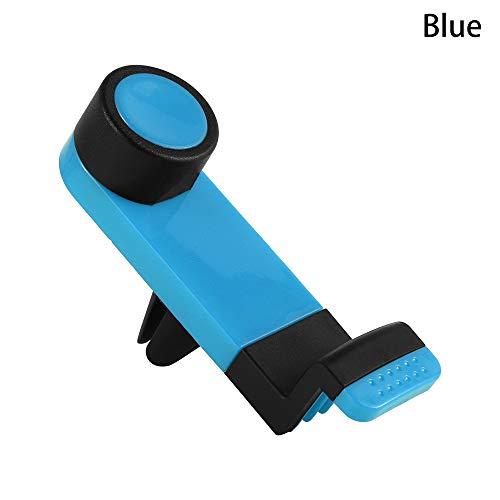 neaverler Neu Wiege Clip Telefon halten Car Phone Holder Stehen Unterst¨¹Tzung Mount Air Vent(Blue)