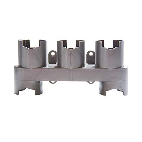 LICHIFIT Staubsauger-Teilhalter, Aufbewahrung für Dyson V7/V8/V10, Bürstenständer-Werkzeug, Düsen-Halter, Dockingstation, Zubehör