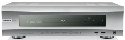 Oppo BDP105D 3D Blu Ray Player (Multi Region) Silber
