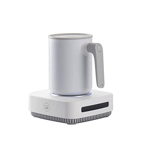 SMLSMGS Termos de la taza de refrigeración portátil inteligente, mini bebida de...