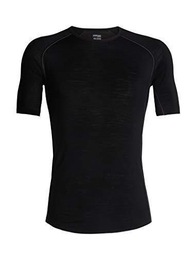 Icebreaker T-Shirt 150 Zone SS Crewe pour Homme XXL Noir