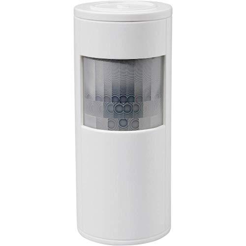 Telekom 99921819 Wireless Wall White Motion Detector Bewegungsmelder, drahtlos, AA, 155g, 12m, Herstellerfarbe White