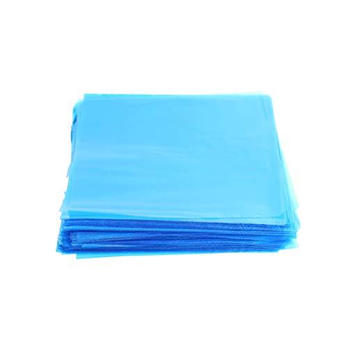 HEALLILY Équipement de Tatouage en Plastique Jetable de Sac de Machine de Tatouage Couvre Les Accessoires 250Pcs (Bleu)
