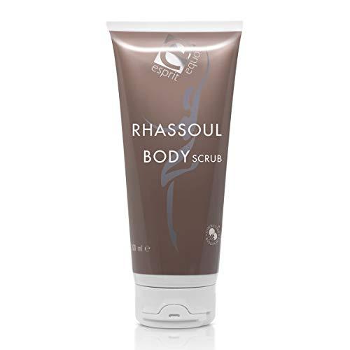 Esprit Equo Rhassoul Body Scrub BIO - Gommage exfoliant et purifiant pour toutes les types de peau