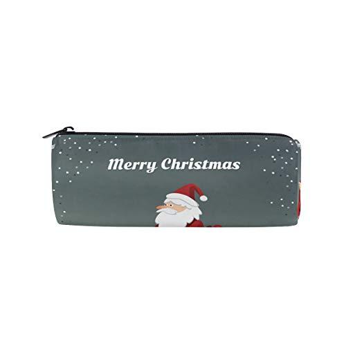 Estuche para lápices de Santa Claus para conducción o scooter