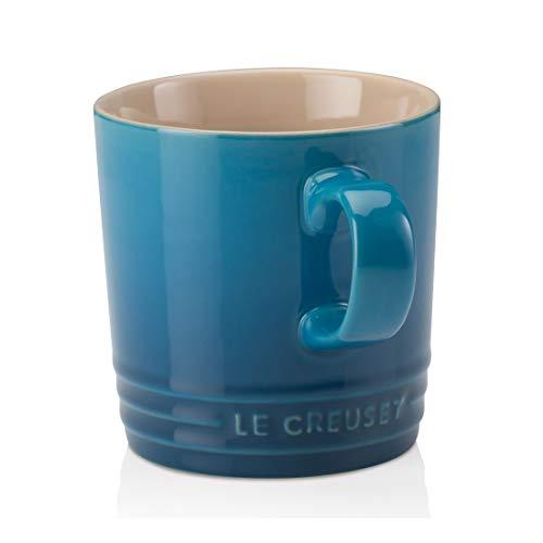 Le Creuset Becher mit Henkel, 350 ml, Steinzeug, 12 cm Höhe, Marseille