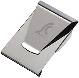 Artek Stainless Steel Slim Money Clip Double Sided Credit Card Holder Wallet Clips