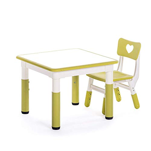 Tägliche Ausrüstung Kinderschreibtisch- und Stuhlset Kinderschreibtisch- und Stuhlset für Kinder 1 10 Jahre Aktivität Tischstuhlset für Kinder Verstellbarer Kinderschreibtisch Ergonomisch gestaltet