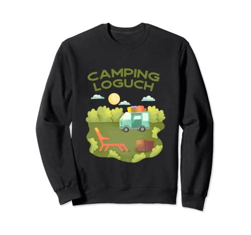 Camping Logbuch Sweatshirt