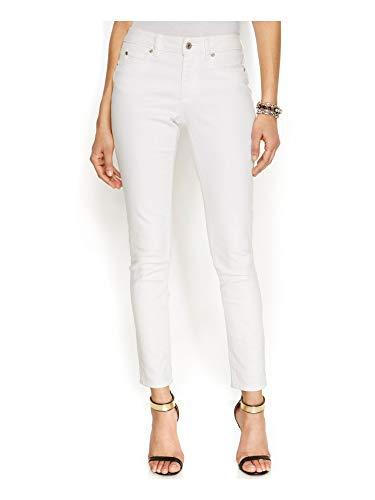 Vince Camuto Women's Five Pocket Skinny Jean, Ultra White, 28/6