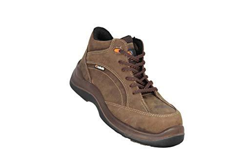 Jallatte Jalmustang SAS S3 HRO SRC zakelijke schoenen werkschoenen hoog bruin